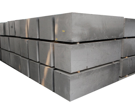 Graphite blocks